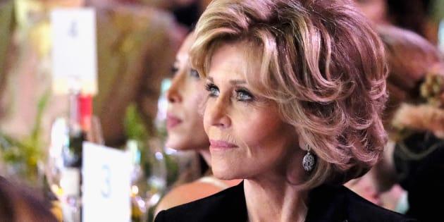 Jane Fonda s'engage activement pour aider les femmes victimes d'agression sexuelle à ne pas se sentir coupable.