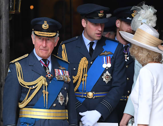 Prince Charles, Prince William 'snubbed' Trump