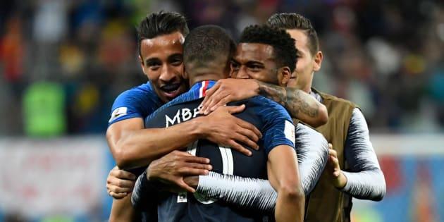 Seleção francesa é composta por imigrantes.