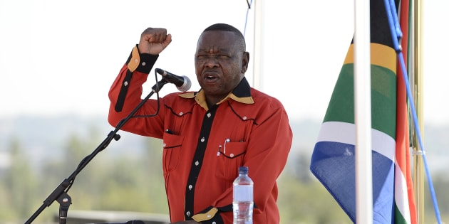 South African Communist Party (SACP) general secretary Blade Nzimande.
