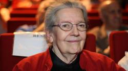 Josette Audin, la femme du mathématicien Maurice Audin, est