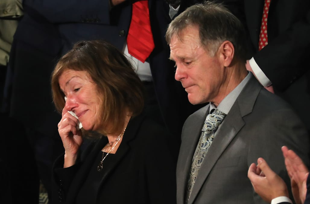 Image result for In Congress Fred and Cindy Warmbier