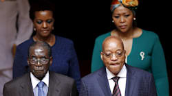 Robert Mugabe Arrives In SA Without