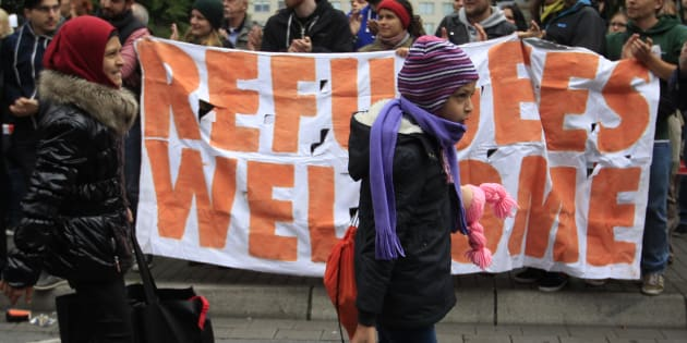 Germany welcomed more than 1 million refugees in 2015.