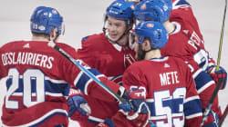 Le Canadien tient le coup en 3e période et arrache un gain de 3-1 aux