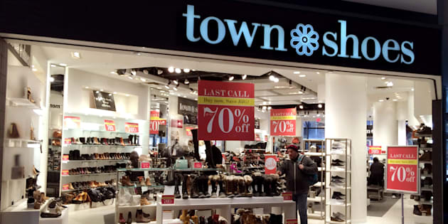 A Town Shoes store at the Eaton Centre in Toronto, Ont. is pictured on Feb. 4, 2016.