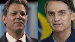 Encuesta: Bolsonaro aventaja, Haddad se queda