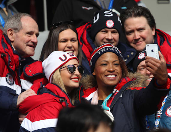 US Olympian deletes selfie with Ivanka Trump