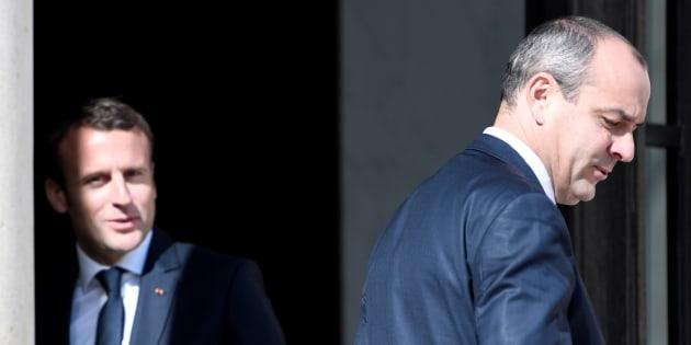 Emmanuel Macron et Laurent Berger (ici à l'Élysée en mai 2017) s'accrochent sur l'échec de la réforme de l'assurance chômage.