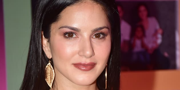 MUMBAI, INDIA - 2018/03/26: Actress Sunny Leone at the Zee TV's online channel ZEE5 new show launch event at Juhu in Mumbai. (Photo by Azhar Khan/SOPA Images/LightRocket via Getty Images)