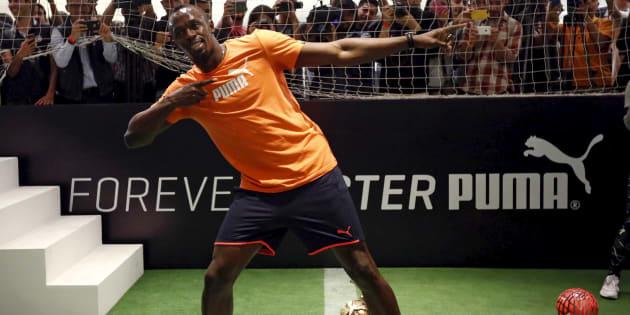 Usain Bolt, qui rêve de faire du football, va s'entraîner avec le Borussia Dortmund