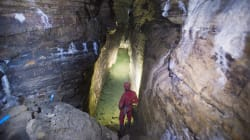 Ice Age-Era Caves Discovered Under