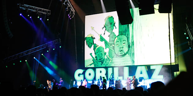 Ohhhhh, The Gorillaz.