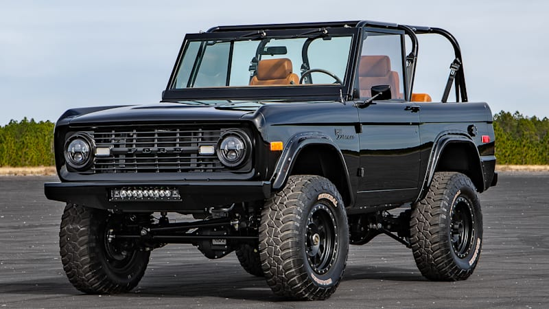 Check Out This Supercharged 1966 Ford Bronco From Velocity