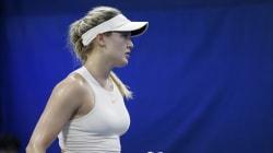 Eugenie Bouchard se retire des qualifications du tournoi de