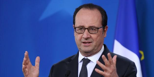 """Hollande """"n'imagine même pas"""" que la Russie bloque la résolution humanitaire pour Alep"""