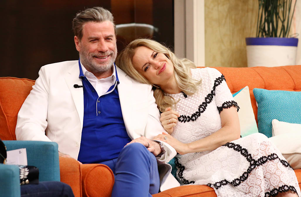 Kelly Preston lists the 'best parts' of being married to John