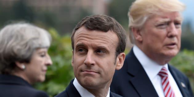 Emmanuel Macron a pris un engagement fort après le choix de Donald Trump.