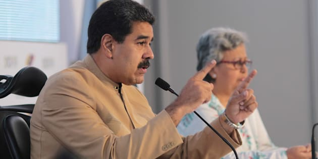 Maduro inaugure sa Constituante malgré la demande d'annulation du Parquet et les manifestations .