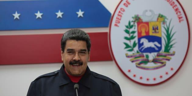 Nicolas Maduro à Caracas le 15 octobre 2017.