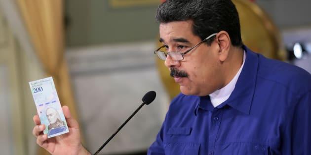 Venezuela: La solution de Maduro pour lutter contre une inflation à 1.000.000% a de quoi laisser perplexe