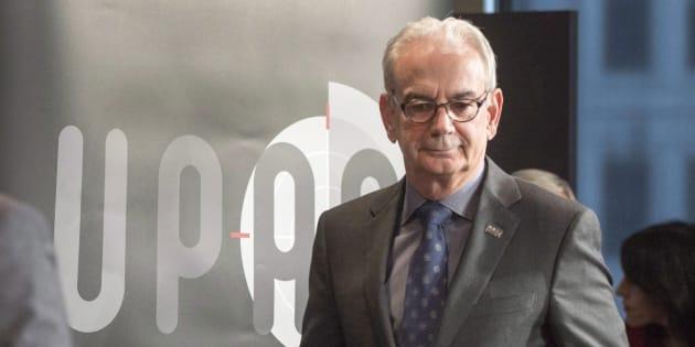 Le commissaire de l'UPAC, Robert Lafrenière.