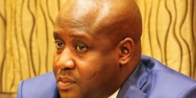 State Security Minister Bongani Bongo, who allegedly tried to pay off state capture inquiry evidence leader Ntuthuzelo Vanara to resign.