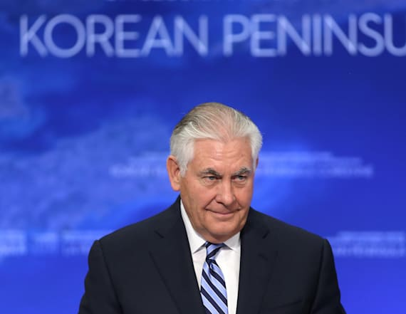 Tillerson says North Korea could 'trigger an option'