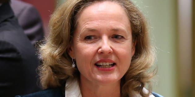 La ministra de Economía, Nadia Calviño, el pasado 5 de noviembre en una reunión del Eurogrupo en Bruselas.