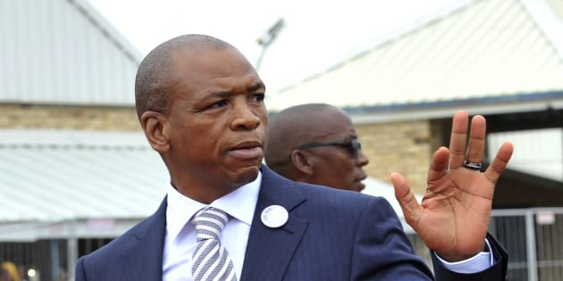 North West premier Supra Mahumapelo.