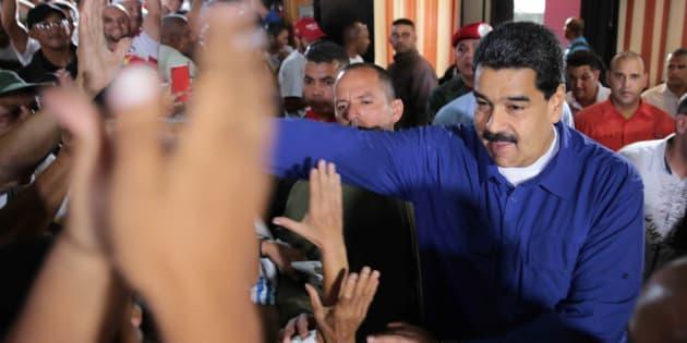 Le président vénézuélien Nicolas Maduro à Caracas, le 29 juillet 2017.