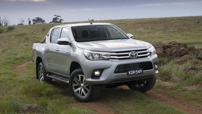 Australian Toyota Hilux gets American-inspired refresh