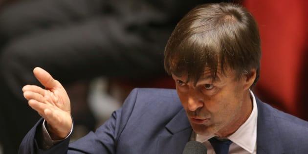 """Pour Notre-Dame-des-Landes, Nicolas Hulot assure qu'il n'a jamais fait de """"chantage"""" lors de son entrée au gouvernement."""