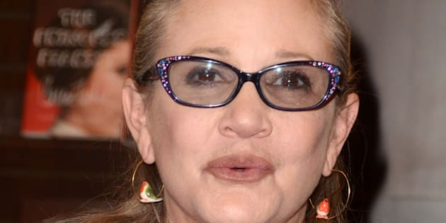 La actriz Carrie Fisher, en una imagen del 28 de noviembre de 2016.