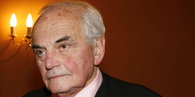 Michel Déon à Paris en 2007.