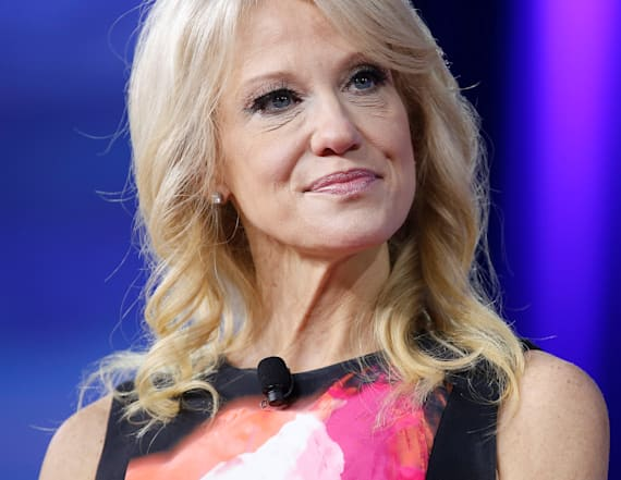 Kellyanne Conway slams 'gender-based' criticism