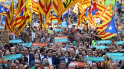 450.000 manifestants à Barcelone pour réclamer l'indépendance de la