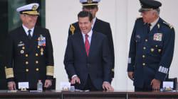 Dice EPN que no es fácil ser presidente; lo acaban en