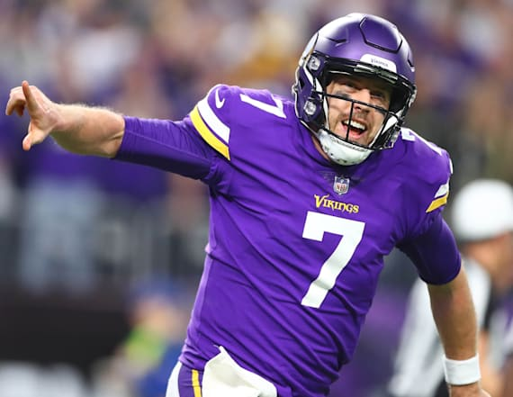Keenum: 'Good job' predicting NFC Championship game