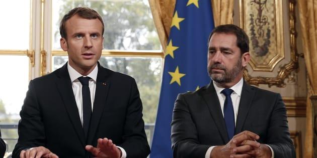 """Résultat de recherche d'images pour """"macron castaner"""""""