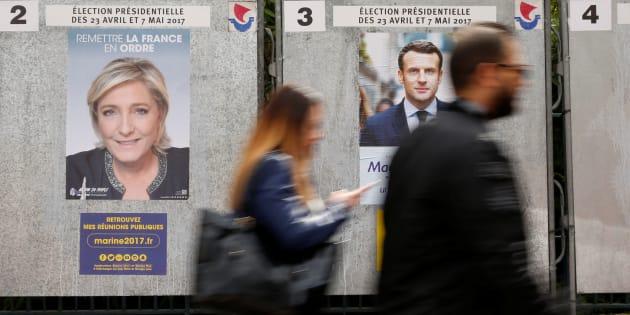 Emmanuel Macron et Marine Le Pen s'affronteront au second tour de l'élection présidentielle: ce que disent les sondages.