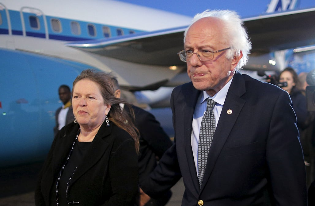 Image result for jane and bernie sanders