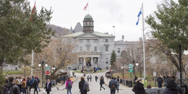 McGill University's campus is seen on Nov. 14, 2017 in Montreal.