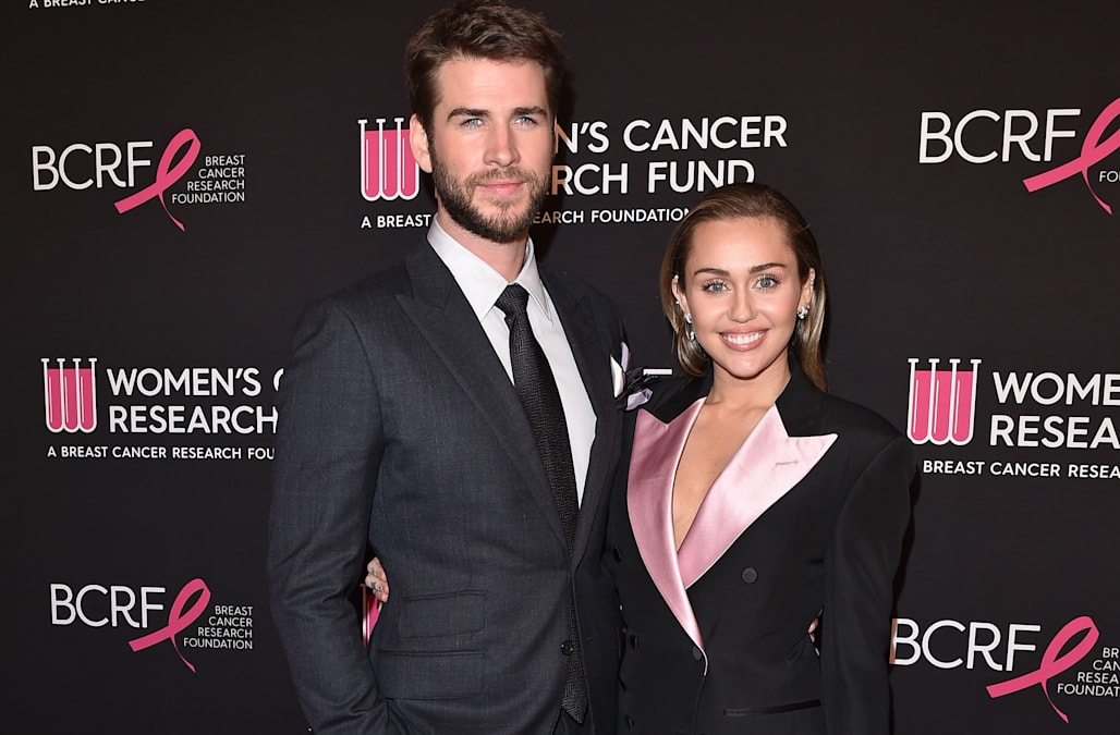 a3aad7b3b5 Miley Cyrus steps out in a Tom Ford power suit for a good cause ...
