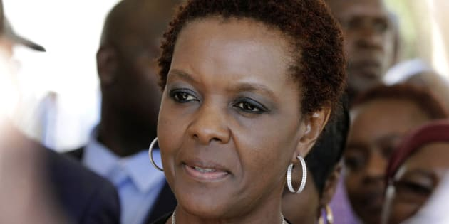 Has First Lady Grace Mugabe been ordered to keep shtum?