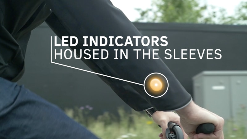 photo image Ford comes up with a smart jacket for cyclists