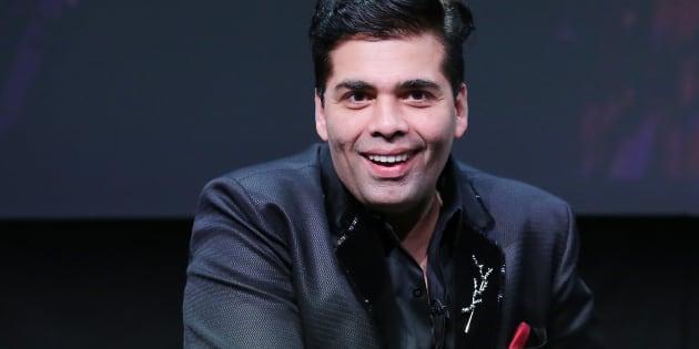 Karan Johar speaks during the 2016 Toronto International Film Festival.
