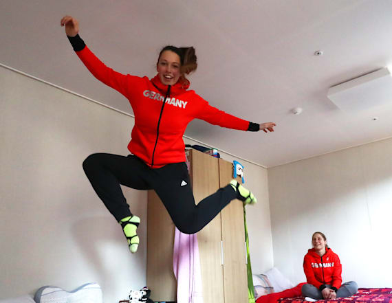 Here's what Olympic athletes do around the village