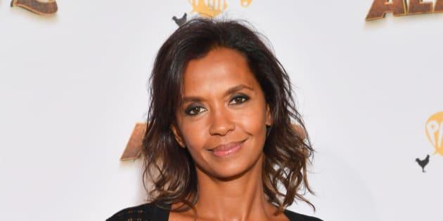 Karine Le Marchand à Paris le 21 septembre 2018.