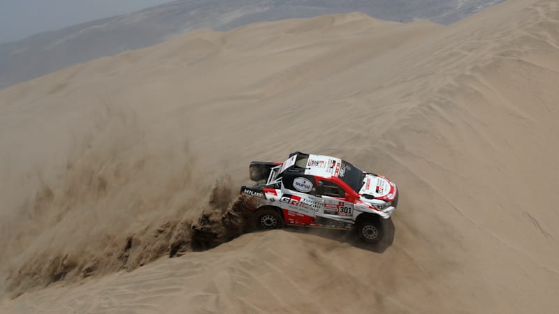 Nasser Al-Attiyah wins his third Dakar Rally, gives Toyota its first victory